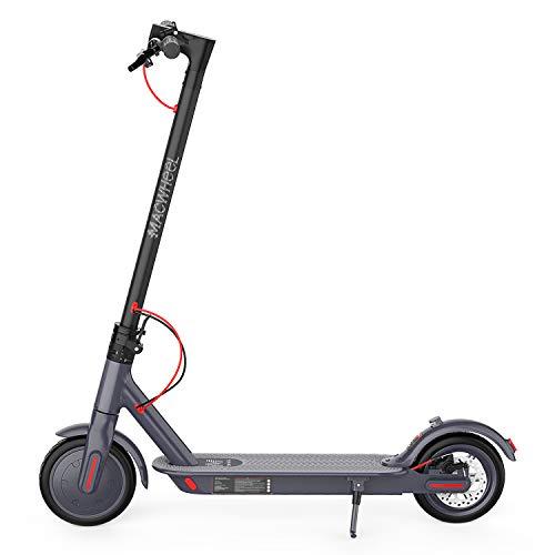 """Macwheel Trottinette Electrique Pliable, Moteur de 350W, Vitesse jusqu'à 25km/h, 8,5"""" Pneu Increvable, Scooter Électrique pour Mixte Adulte"""