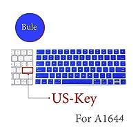 BluetoothワイヤレスキーボードMLA22LL / A1644 IFor MacマジックキーボードカバープロテクターシリコーンカバーUS/EUバージョン-US-Key-H-