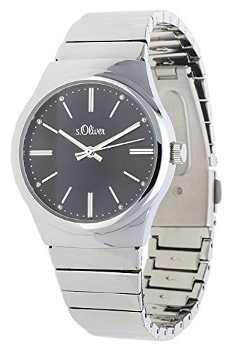 s.Oliver Damen-Armbanduhr Analog Quarz SO-15130-MQR