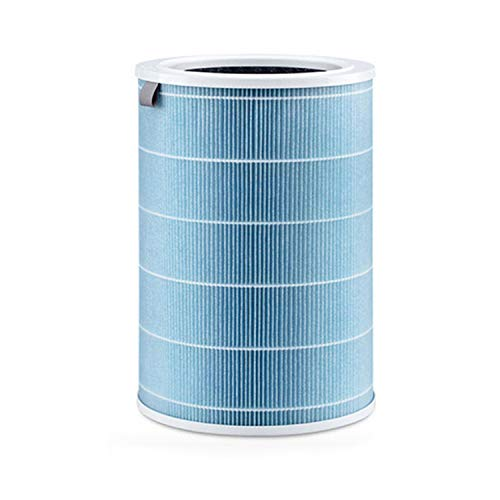 Migaven HEPA Filter Activated Carbon Filter Cartridge Replacement Accessories Compatible with Xiaomi Mijia Mi Air Purifier 1 2 Pro Blue
