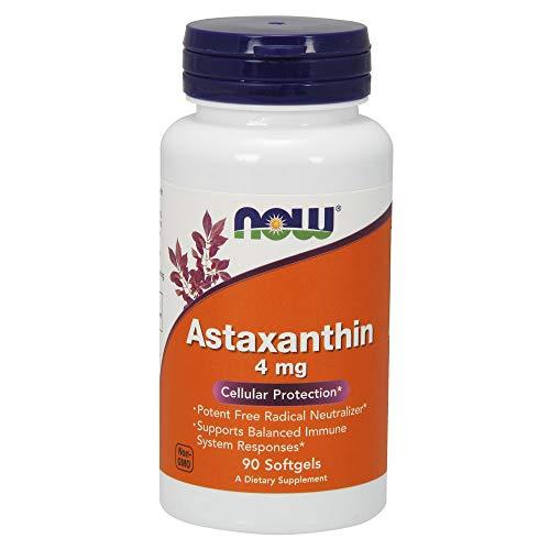 Now Foods, Astaxanthin, 4mg, 90 Weichkapseln