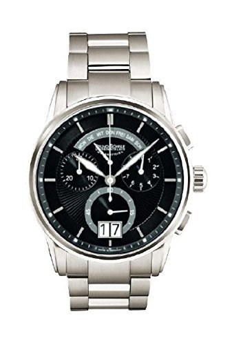 Bruno Söhnle Herren Chronograph Quarz Uhr mit Edelstahl Armband 17-73117-742