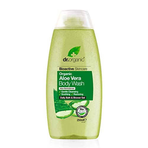 Dr Organic Bad- en douchegel Aloë Vera 250 ml, prijs/100 ml: 3 EUR
