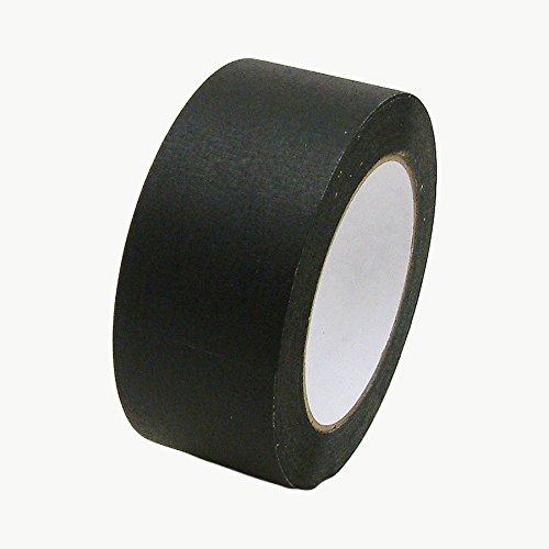 JVCC JV497 Black Masking Tape: 2 in x 60 yds. (Black)