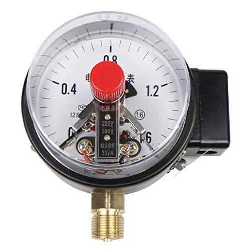 Professioneller Manometer Druckluftmanometer Vakuummeter Druckmesser mit YXC Elektrischen Kontakt Design - 0-0.1mpa