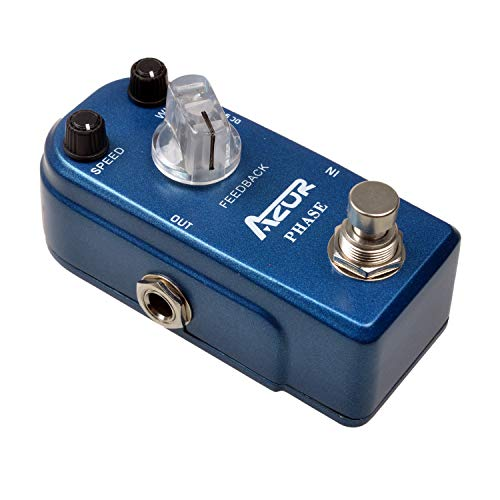AZOR Phaser Guitar Effects Pedal Pure Analog True Bypass
