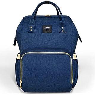 حقيبة حفاضات اطفال متعددة الاستعمال للامهات، يمكن حملها على الكتف