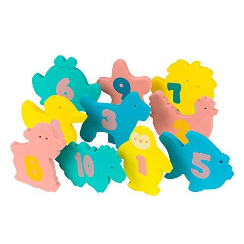Clevamama - Juguetes de baño educativos para bebés