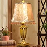 SET Lámpara de Mesa-lámparas Retro Americanas lámpara de Sala de Estar Dormitorio Minimalista Moderna lámpara de jardín Creativo