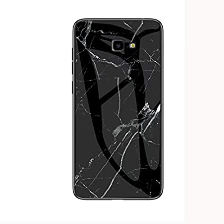 MoreChioce Kompatibel mit Samsung Galaxy J4 Plus 2018 H/ülle Marmor Glas Handyh/ülle D/ünn Bling Glitzer Silikon Crystal Schutzh/ülle Anti-Scratch Hybrid Tasche Hard Case Slim Sto/ßfest Bumper,Gold Marmor