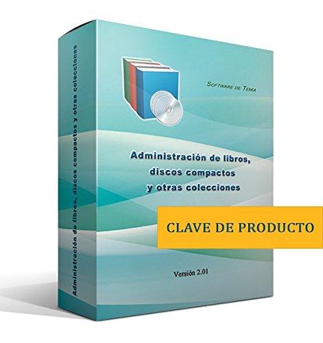 Administración de libros, discos compactos y otras colecciones [Solo clave de producto, sin disco]