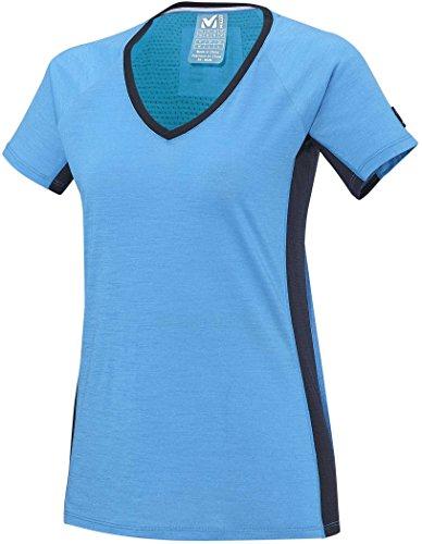 Millet LD Trilogy Wool TS - T-shirt manches courtes - bleu Modèle XS 2017 tshirt manches courtes