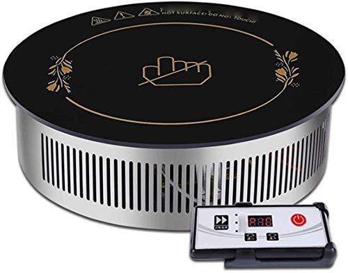 Lejos de infrarrojos-doble anillo encimera quemador placa de calefacción eléctrica portátil placa eléctrica Quemador Individual caliente uso en el hogar encimera estufa de acero inoxidable cubierta de