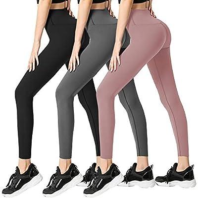 3 Pack Womens Leggings-No