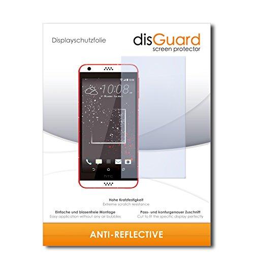 disGuard® Bildschirmschutzfolie [Anti-Reflex] kompatibel mit HTC Desire 530 [2 Stück] Entspiegelnd, Matt, Antireflektierend, Extrem Kratzfest, Anti-Fingerabdruck - Panzerglas Folie, Schutzfolie