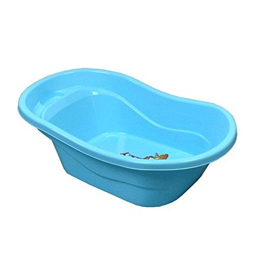 YC electronics Bañera de Perro, bañera de baño de Perro de Mascota, baño de Piscina, 71 * 40 * 21 cm, Azul