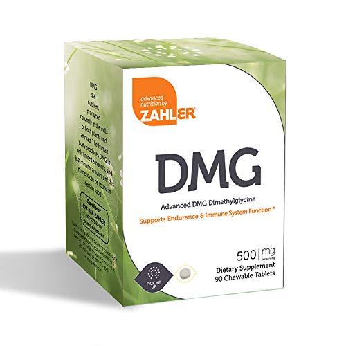 Zahler - DMG 500 mg. - 90 Chewable Tablets