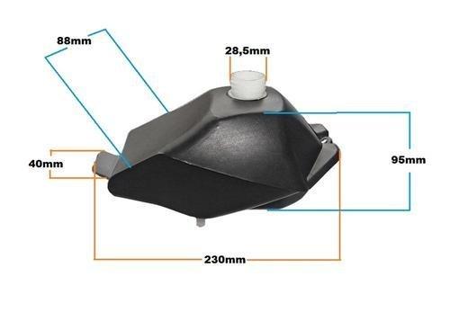 Nitro Motors Tank Tankbehälter für Python Cobra & Hobbit 49 cc 2 Takter Bike Quad ATV