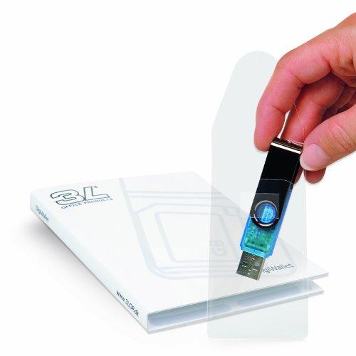 3L X10250 selbstklebende USBKartentasche transparent USBTasche
