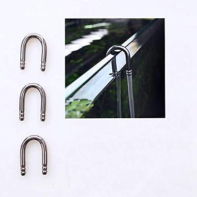 BASE WAVE Aquarium Accessories 3 Pcs of U Type Tubes Air Pump Accessories CO2 System U-Shape Connector