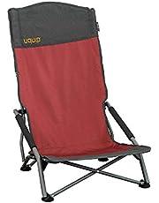 Uquip Sandy XL - Opvouwbare, Comfortabele Strandstoel Met Extra Hoge Rugleuning