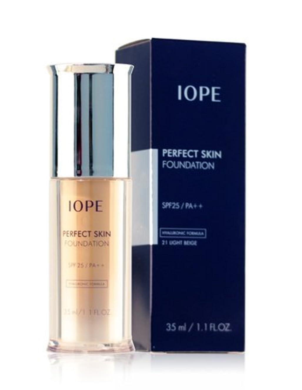 ネットアトム日没Amore Pacific IOPE Perfect Skin Foundation (spf 25, pa++) no.21 light beige 35ml