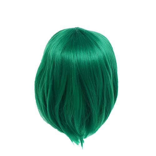 Peluca Verde  marca Lurrose