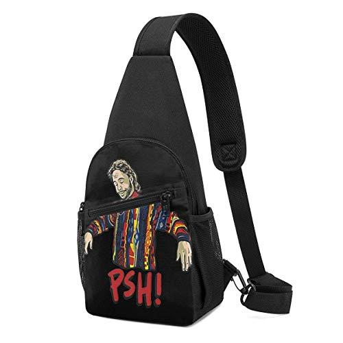 Hdadwy Pshfor Bassmaster Or Non Crossbody Sling Backpack Travel Hiking Chest Bag Daypack