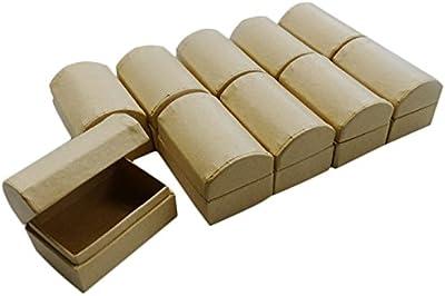 Baule porta-gioie in cartone, per hobbistica e fai-da-te, 6 x 4 x 4 cm