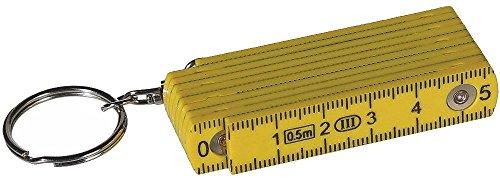 OOTB Schlüsselanhänger »Zollstock« 50 cm (Gelb)