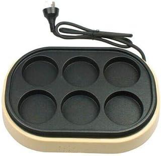 Gâteau Maker Surface Machine 6 trous Cupcakes Makers Anti Stick Stick cuisson outil de cuisine, 2 pièces