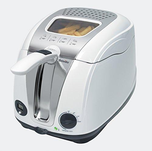 Breville Easy Clean Deep Fryer - White