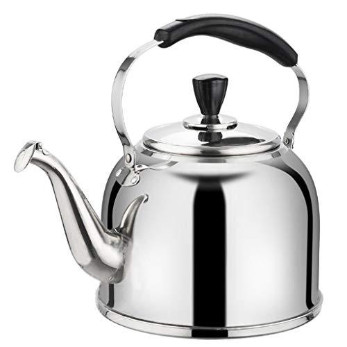 LCFF Bouilloire de santé de sifflet automatique de cuisinière à gaz 304 (Capacité : 6L)