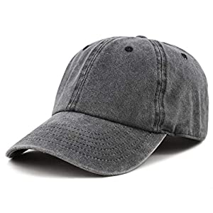 100% Cotton Pigment Dyed Low Profile Dad Hat Six Panel Cap