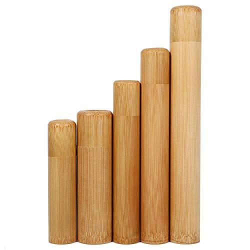 Weier. Ben Bloempot voor snoepjes, milieuvriendelijk, van bamboe, geurbuis, natuurlijke kleuren