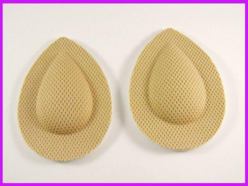2 paar schoen voet bal inlegzolen voegt kussen stof hoge hakken