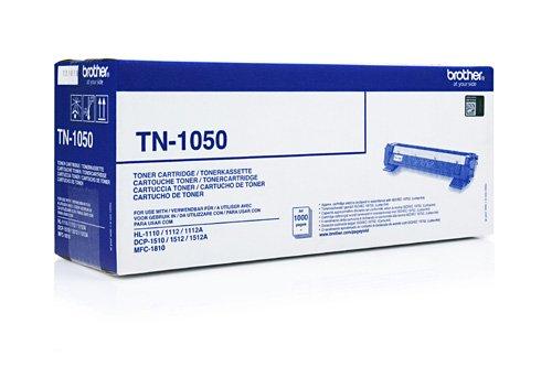 1x Original Tonerkartusche Brother TN1050 TN 1050 für Brother DCP 1510 - BLACK - Leistung: ca. 1000 Seiten/5%