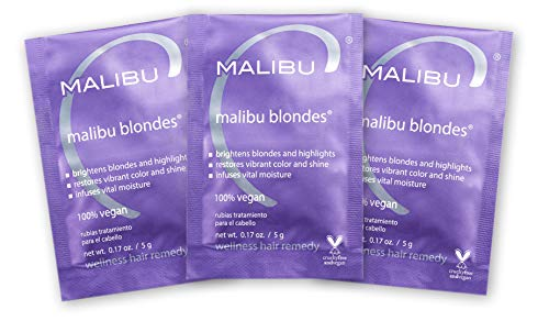 Malibu C Blondes Wellness Hair Remedy, 3 Count