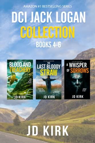 The DCI Jack Logan Collection Books 4-6: A Scottish Crime Fiction Series