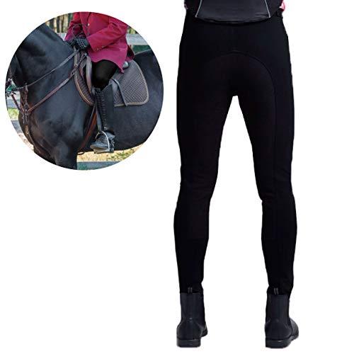 フェリモア 乗馬用キュロット 乗馬ズボン 尻革 滑りにくい メンズ 乗馬用品 小物ポケット付き