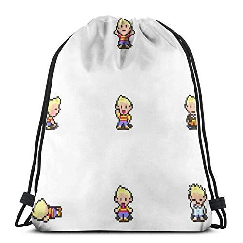 N / A Ludo Brettspiel Brettspiel Verstellbar Gym Bag Tasche Gymsack Sporttasche Kordelzug Rucksack Tasche Jugendliche Drawstring Backpack Für Damen Herren