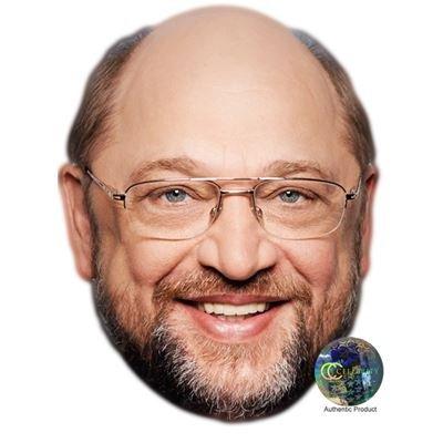 Celebrity Cutouts Martin Schulz Maske aus Karton