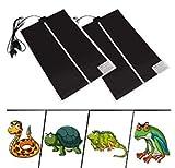 HiCollie 2Pcs Heizmatte Terrarium Heizmatte Heizung Terrarium Zubehör Heizer Reptil Heizkissen...