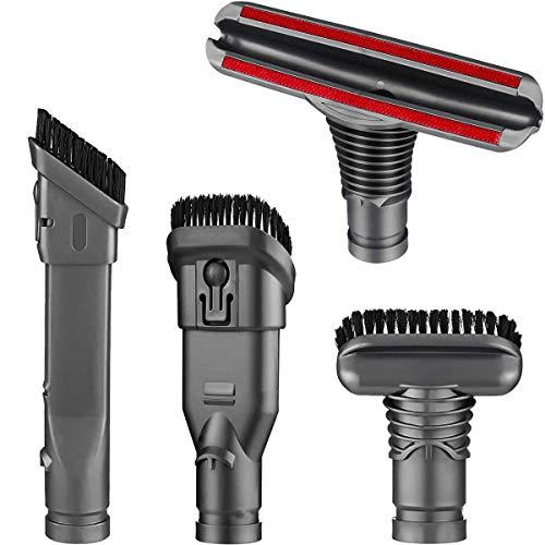 Kit de cepillo de herramientas de repuesto para Dyson V6 V7 V8 V10 DC24 DC33 DC35 DC44 DC58 DC59 DC62 DC74 Dyson accesorios de vacío inalámbricos (un juego de 4)