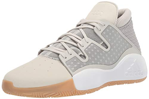 adidas Men's Pro Vision, raw White/Light Brown/Gum, 8 M US