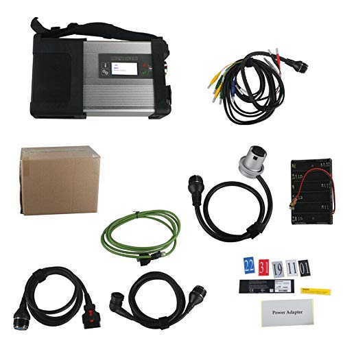 color tree MB SD Connect Kompaktes 5-Sterne-Diagnosetool diagnosegerät mit WiFi-Funktion ohne Software für PKW Vans LKW