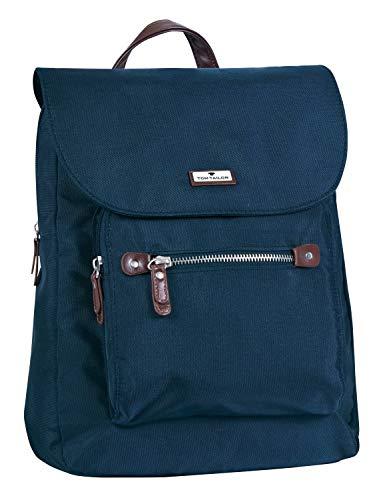 TOM TAILOR bags RINA Damen Rucksack M, blue, 29x8,5x31