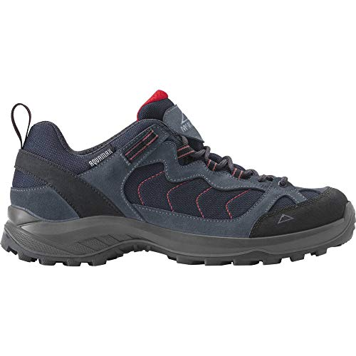 McKINLEY Herren Explorer AQX M Low Cross-Trainer, Grün (Navy/Red Dark 900), 45 EU