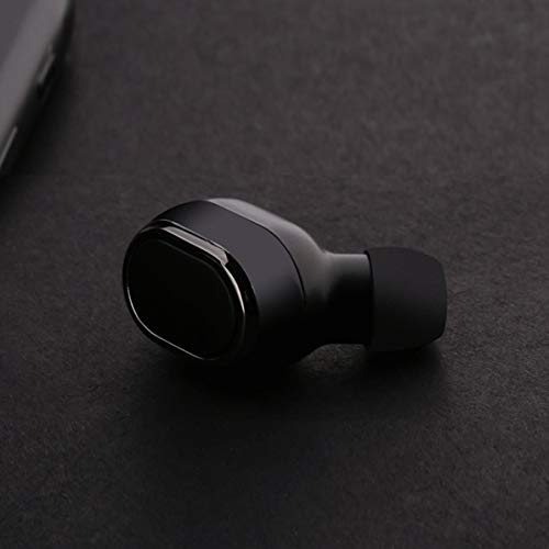 Sunnyflowk Mini18 Headset Mini 4.1 Ohrhörer Ultra Small Stealth Wireless Sport Mini Unisex (schwarz)