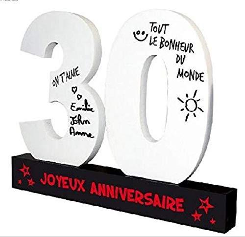 P2G - Dédicaces 3D anniversaire 30 ans - 23 x 29 cm